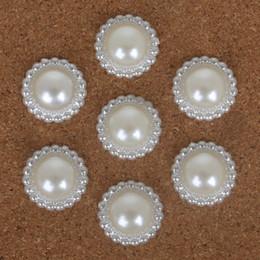 De haute qualité multi-taille artisanat blanc ABS imitation perles Perles fleur pour bricolage bijoux artisanat faisant ? partir de fabricateur