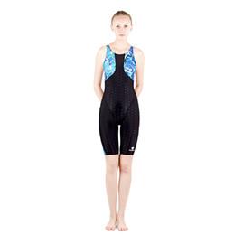 Wholesale Women S Swimsuit Sleeves - HXBY Women Girls fastskin Full Waterproof Body Suit Swimwear Long Sleeve Arena Competitive Swimming Swimsuit-987