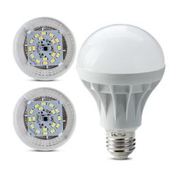 Canada Ampoules LED E27 Globe Ampoules 3W 5W 7W 9W 12W 15W SMD5730 LED Ampoules Chaude Cool Blanc Lumineux Super Lumineux Ampoule Économie D'énergie cheap energy saving bulb light Offre