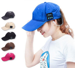 Kablosuz Bluetooth Spor Beyzbol Şapkası Tuval Akıllı Güneş Şapka Müzik Kulaklık Hoparlör Akıllı Telefon için Mic ile Handsfree nereden