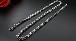 Wholesale 6mm Stainless Snake Chain - 2017 2018 Big Promotions ! 20pcs Keel chain Chain Necklace Lobster Clasps Chain Jewelry Size 6mm 45cm-90cm #286