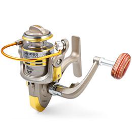 Wholesale Saltwater Fish Reels - 2017 New Arrival 8 BB fish ratios 1000-7000 Series Spinning Fishing Reels crank handle steering wheel for Freshwater Saltwat