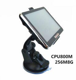 Wholesale Sat Navigation - 5 inch Touch Screen Car GPS Navigation Sat Nav HD800*480 CPU800M 256M 8GB + FM transmitter + Free latest Maps