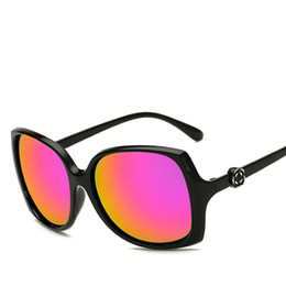Acheter en ligne Visières solaire femme-Hot Spring Lunettes de soleil pour femmes Lunettes de soleil de conduite Anti-UV Sun Visor Beach Outdoor Vacation Leisure Fashion wild Glasses