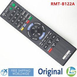 Wholesale Original Blu Ray - Wholesale- BRAND NEW ORIGINAL RMT-B122A RMTB122A BD Remote Control FIT For SONY BDP-S2100 BDPS790 BDPS790 Blu-ray Disc DVD Player