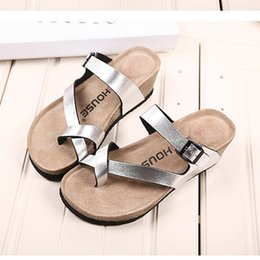 Wholesale Comfortable Wedges Sandal - Wholesale-Women Slippers Fashion Brand Flip Flops comfortable Casual Women Sandals High Heels Women Summer Wedges Platform Beach Slippers