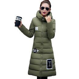 Wholesale Padded Jackets Women Plus Size - New 6 Color parkas for women winter parka women jackets Plus size thick padded winter jacket women manteau femme M - 3XL YT191