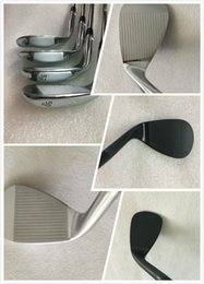 Wholesale Brands Golf Clubs - Hot sell Brand New Golf Clubs SM6 Wedges Golf Wedge SM6 Silver Black 50 52 54 56 58 60 Degree with Steel Shaft
