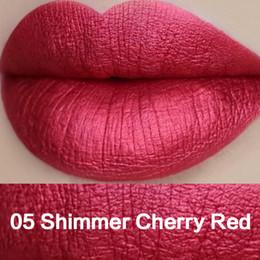 sexy dunkles make-up Rabatt Großhandelsverfassungs-flüssige Lippenstifte metallischer Lipgloss-Feuchtigkeitscreme-langlebige Mattlippenstiftlippenkit 16pcs / set