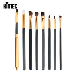 Wholesale Using Eye Shadow - Luxury 8pcs Makeup Brush Set Mainly Use For Eye Beauty Including Eyeshadow Brush Eyebrow Brush Cosmetic Tool