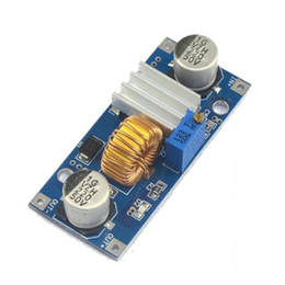 Wholesale 12v 9v converter - Wholesale- 5A 4V-38V to 1.25V-36V DC-DC DC to DC Voltage Regulator Buck Converter Step Down Power Supply Buck Module 24V 12V 9V 5V