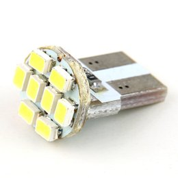 Wholesale High Power Led Drop Lights - Wholesale-New1pcs low power consumption 12V 1W 8-SMD T108 LED Bulbs 8 High-Power 1206 SMD LEDs Lights Free   Drop Shipping
