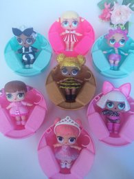 Wholesale High End Dolls - Hot selling 7 type high end color changed LOL suprise doll with imported perfume for kids and adults