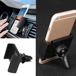 Wholesale Holder For Car Dvr - Wholesale- Universal car phone holder stand for iphone 6s 5s 360 degrees car air vent mount holder for huawei samsung LG support GPS DVR