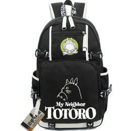 Wholesale Totoro School Backpack - Totoro backpack Nice Cat school bag My Neighbor daypack Cartoon schoolbag Outdoor rucksack Sport day pack