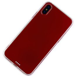 Wholesale Tpu Smartphone Case - High Quality TPU Transparent Smartphone Cover Soft Ultra Thin Protective Back Case Durable Practical Phone Protection Shell for iPhone X