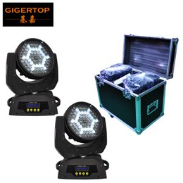 Wholesale Cool Light Fan - 2in1 Flightcase Pack 90x5W Led Moving Head Light American Disco Dj Cree High Brightness LED Silent Zoom Motor Fan Cooled CE ROHS TP-L610