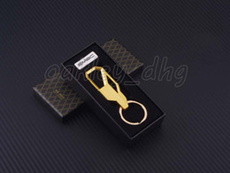 Wholesale Car Key Holders For Toyota - 2017 Mens Metal Car Motorcycle Keychain Key Key Chain Key Holder for Toyota Fashion Business affairs