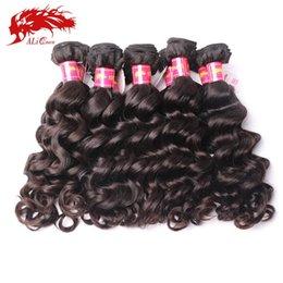 Wholesale Hair Weave Supplies - Wholesale-Ali queen hair products unprocessed virgin brazilian hair wholesale 10pcs 8-34 inch hair supplies human hair wholesale 10 pieces