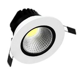 Luz del techo del dormitorio regulable online-Venta CALIENTE 9W Cob led luz Luces de Techo Modernas Cálidas / Frías luces de Dimmable blancas para el dormitorio con el conductor llevado