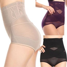 Wholesale Tummy Control Wear - Wholesale- Women Body Shaper Slim Briefs High Waist Tummy Control Shorts Pant Shape wear Newest