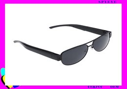 Wholesale High Resolution Pinhole Cameras - 2017 hot selling products high-definication 1920*1080P resolution pinhole technology support 64GB DVR motion detection spy sunglasses camera