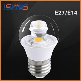 Wholesale Led Crystal Spot - Brand New E14 E27 Led Lights Bulbs Lamp High Brightness COB 5W Clear Crystal Led Spot Lights 550 Lumens AC 85-265V Free Shipping