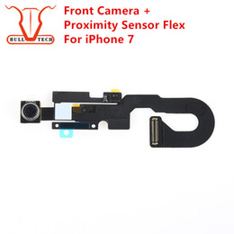 Wholesale Lighting Cable For Iphone - For Apple iPhone 7 4.7 Inch Front Small Camera Module Proximity Sensor Light Flex Cable Replacement Facing Cam for i7 4.7""