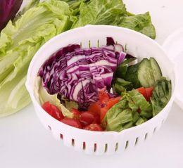 Wholesale Wholesale Salad Bowls - 2017 New Salad Cutter Bowl,Vegetable Cutter Bowl Salad Maker Healthy Fresh Salads Made Easy Make Your Salad in 60 Seconds