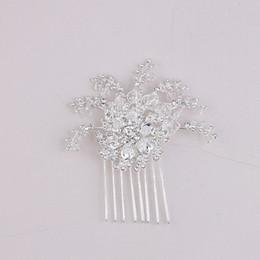 Wholesale Disc Headdress - European and American style bridal jewelry disc headdress hair ornaments wedding wedding dress accessories
