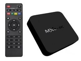 Wholesale Movie Streaming - MXQ-4K Android TV Box RK3229 Quad Core Stream Media Player 1G+8G WIFI Android Fully Loaded ShowBox Mobdro Free Sports Movies