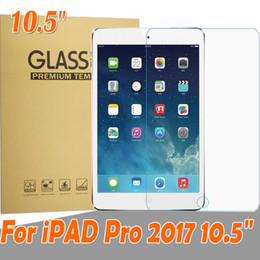 "Wholesale Ipad Screen Protector Retail - Tempered Glass Screen Protector for ipad 2017 ipad pro 10.5"" 10.5inch Glass Film in retail package"