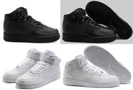 Wholesale Low Cut Lace Wedding Dresses - Men & Women Shoes,Skateboarding Force Ones Shoes High Low Cut White Black Outdoor Trainers Sneakers Size: 36-46
