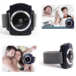 Wholesale Snore Gone - On Sale! Home Snore Gone Stopper Wristband Cessation Anti Snoring Watch Sleeping Night Guard Aids