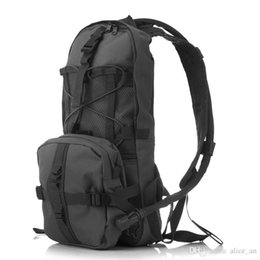 Wholesale Tactical Backpack Sizes - Size (45*20*10cm)Outdoor Sports Mountain Hiking Climbing 2.5L TPU Tactical Hydration Water Backpacks Bag with Bladder Black Khaki Army Green