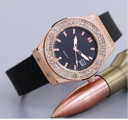Wholesale Watch King Lady - 2017 New Women Ladies Watch Luxury Quartz watches details about ladies watch classic fussion king gold diamonds 18k rg 581.ox.1181.WristWatc