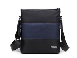 Wholesale Men S Bags Business - Shoulder canvas bag men 's leisure business package Messenger bag