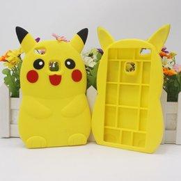 Wholesale Skin Galaxy Duos - 3D Poke Pikachu Soft Silicone Case For Huawei P8 P9 Lite Y5 II Galaxy Core Prime Core2 Grand Prime Duos Rubber Gel Cartoon Monster Cute Skin