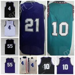 brand new e91db d17e7 lila beige Rabatt Top 55 Jason Williams Throwback Jerseys Basketball 4  Chirs Webber 10 Mike Bibby