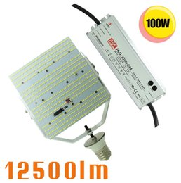 Wholesale Daylight Kit - 400W led warehouse retrofit 100W Replacement Kit with E39 Base for High Bay,Parking Lot,Street,Wall Pack light in Daylight White 6000K