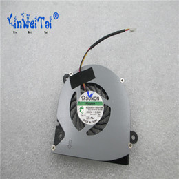 Wholesale Dc Fan Cooler Wire - Free Shipping For SUNON MG35060V1-Q000-G99, F4TY9 DC 5V 0.25A 3-wire 3-Pin Server Laptop Cooling fan for DELL 11Z 1110