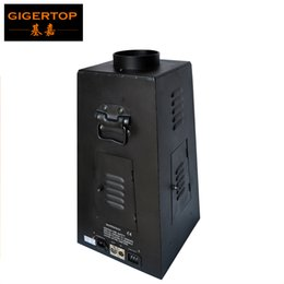 Wholesale Projector Cases - Freeshipping TIPTOP 350W 4 Color Stage Effect Fire Machine 6 Angle Shape Aluminum Case DMX 512 4 Channel Control Flame Projector