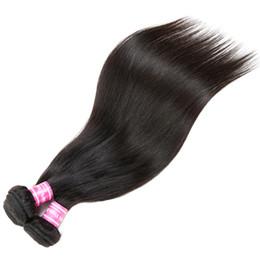 tintura brasiliana capelli neri Sconti Capelli umani diritti Tesse Brasiliano Malese indiano Mongolo cambogiano Peruviano Non trattato Naturale Nero 1B Può Essere Tinto Capelli Lisci