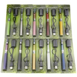 Wholesale Blister Ego Ce5 - eGo CE5 Blister Kits ecigarette starter kits 650mah 900mah 1100mAh eGo T Battery 1.6ml CE5 Atomizer