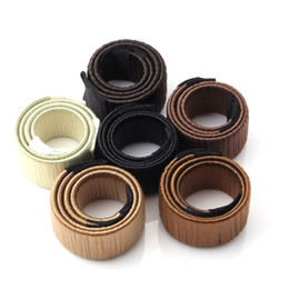 Wholesale Hair Tools Bun Maker - French Hair Ties Girl Hair Diy Styling Donut Former Foam Twist Magic Tools Bun Maker Black Brown Coffee 3006017