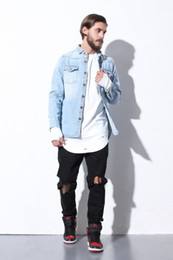 Canada Light Wash Denim Jacket Men Supply, Light Wash Denim Jacket ...