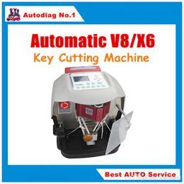 Wholesale Key Cutting Machine Prices - BEST Price Automatic V8 X6 Key Cutting Machine With Free V2015 Database
