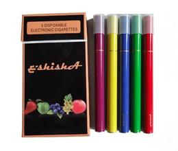 Wholesale Ego Diamond Led Batteries - 2017 Aa Battery E Shisha Pen Disposable Electronic Cigarette Ego Hookah Cigarettes Diamond Led Lights 500puffs 5 Colors Flavors Cig