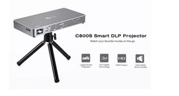 Wholesale Iphone Projectors - 1PCSMini Projector Portable Pico Video Projector for iPhone and Andriod phone with 120 Inch Display HD Home Theater Family Cinema