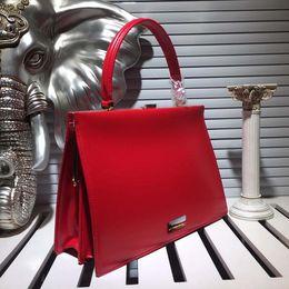 Wholesale 32 Dress Size - Totes High quality Italian fashion ladies handbag 5 color size 32 * 22 * 8 patent leather fashion handbags elegant high end